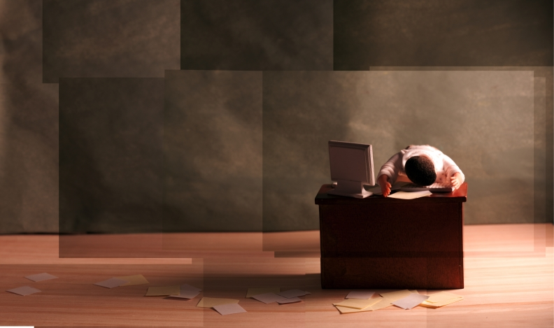 Book Cover Illustration: Working Would be Great if it Weren't for Managers