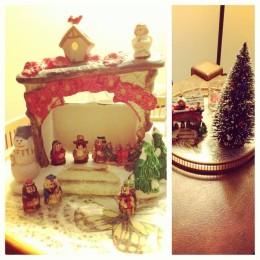My mini Christmas decorations.