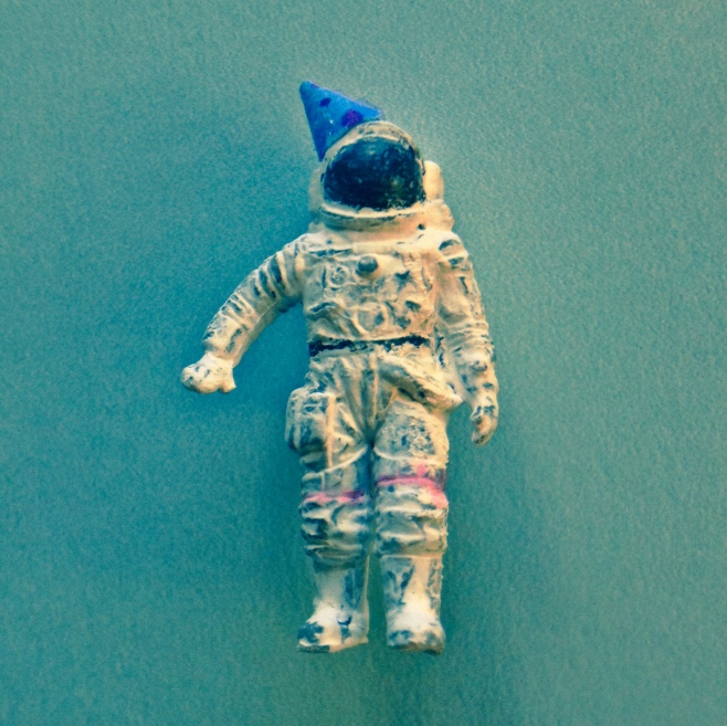 Birthday Astronaut