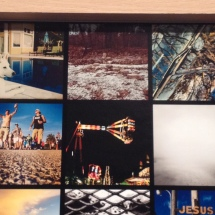One of my pieces as park of the #photojaxhoods exhibit- the top middle