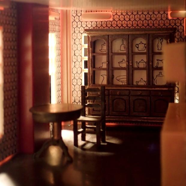 Galoob Li'l House Wonderful (1980s My Pretty Dollhouse) with furniture