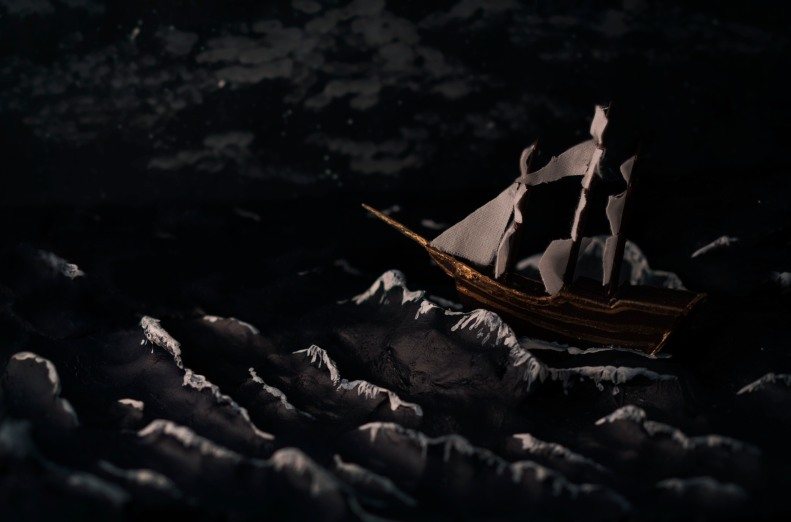 Stormy Night Sail