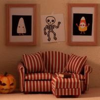 Halloween Living Room