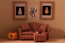 Halloween Living Room