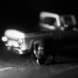 Headlights: Truck Tire