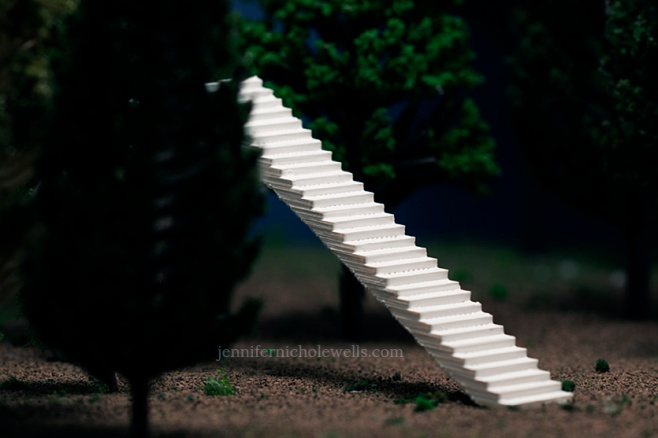 stairs tall
