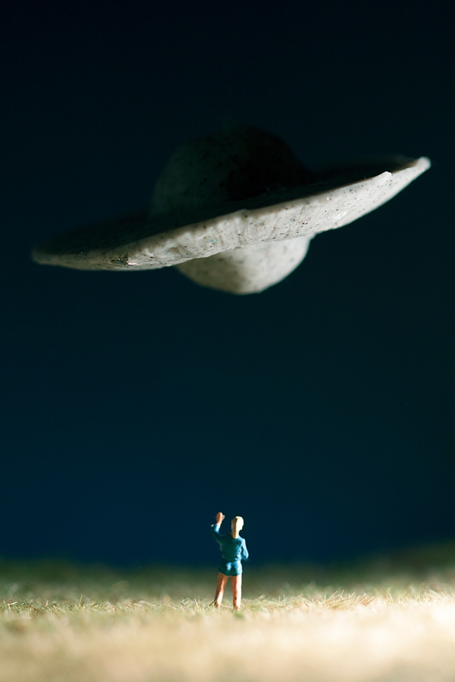 UFO person