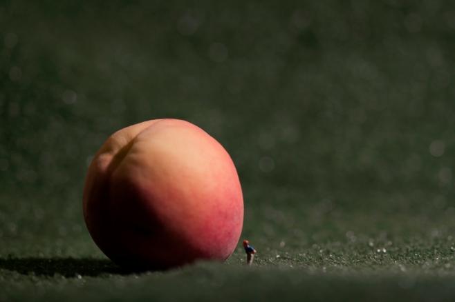 James and the Giant Peach - Peach