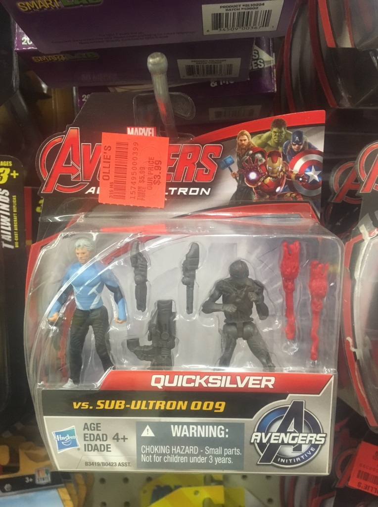 Hasbro Marvel Avengers Age of Ultron 5cm action figures - can be found for $2-5 in discount stores