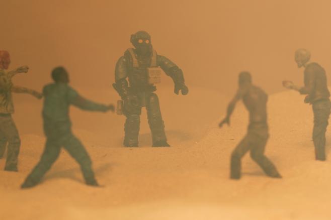McFarlane Toys Walking Dead with Mega Construx