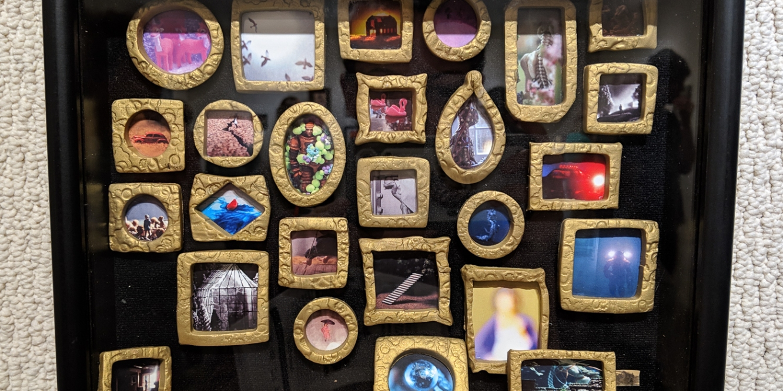 Tourmaline .'s work in Miniature show, St. Augustine, FL