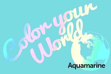 aquamarine color your world photo challenge badge