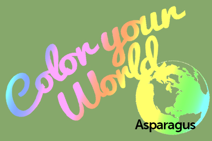 asparagus color your world photo challenge badge