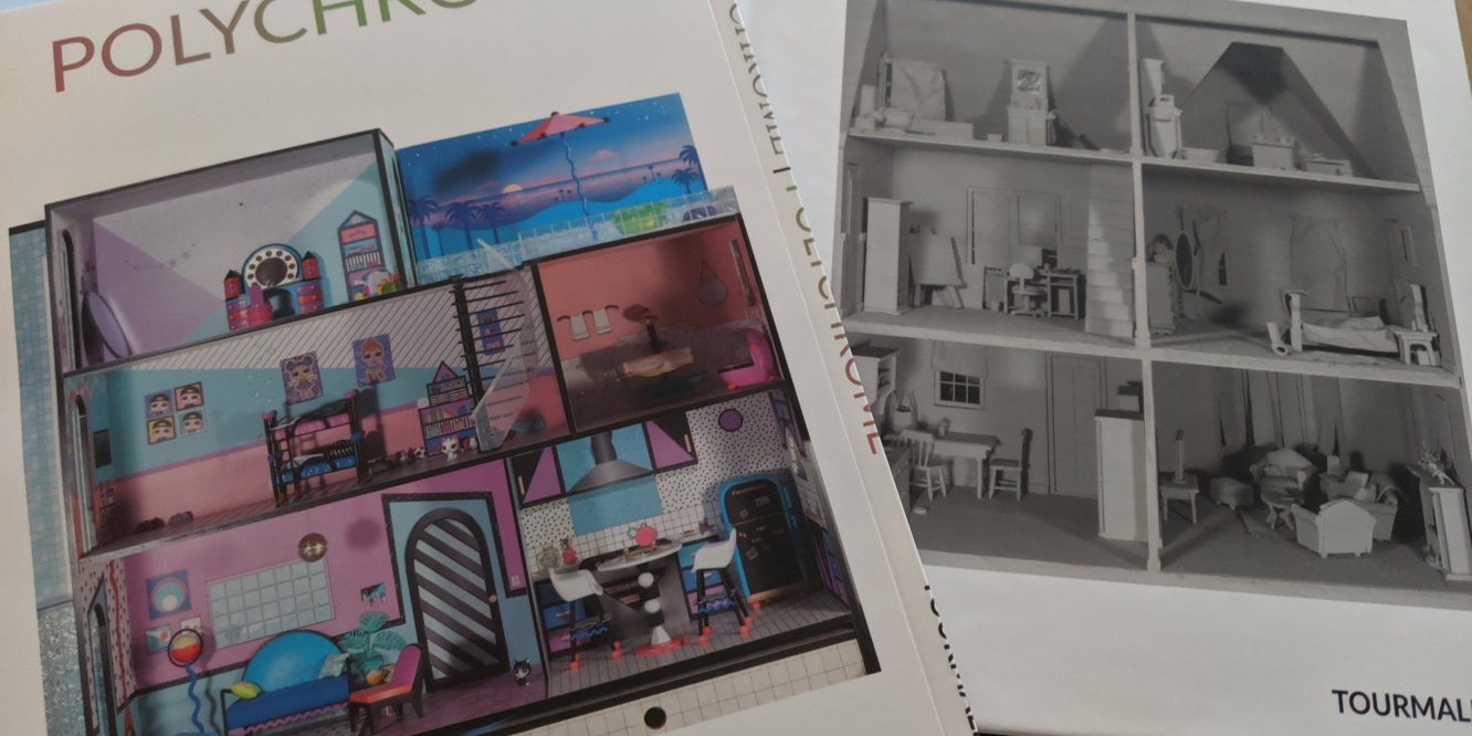 Monochrome | Polychrome books by Tourmaline .