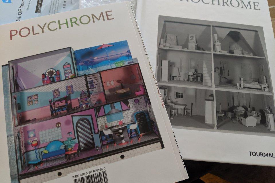 Monochrome   Polychrome books by Tourmaline .