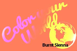 burnt sienna color your world photo challenge badge