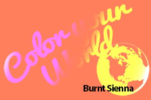 burnt sienna color your world photo challenge badge