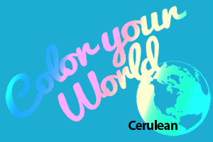 cerulean color your world photo challenge badge