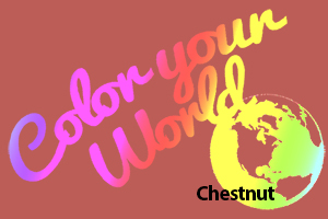 chestnut color your world photo challenge badge