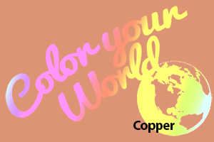 copper color your world photo challenge badge