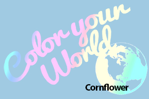 cornflower color your world photo challenge badge
