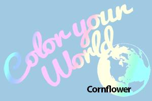 cornflower color your world photo challenge badge