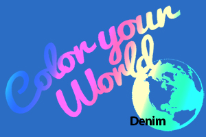 denim color your world photo challenge badge