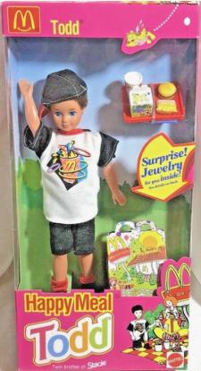 1993 Mattel Barbie Happy Meal Todd