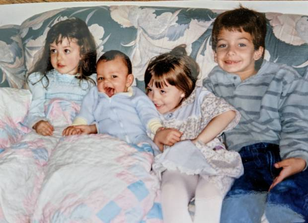 Me, my sister and my cousins
