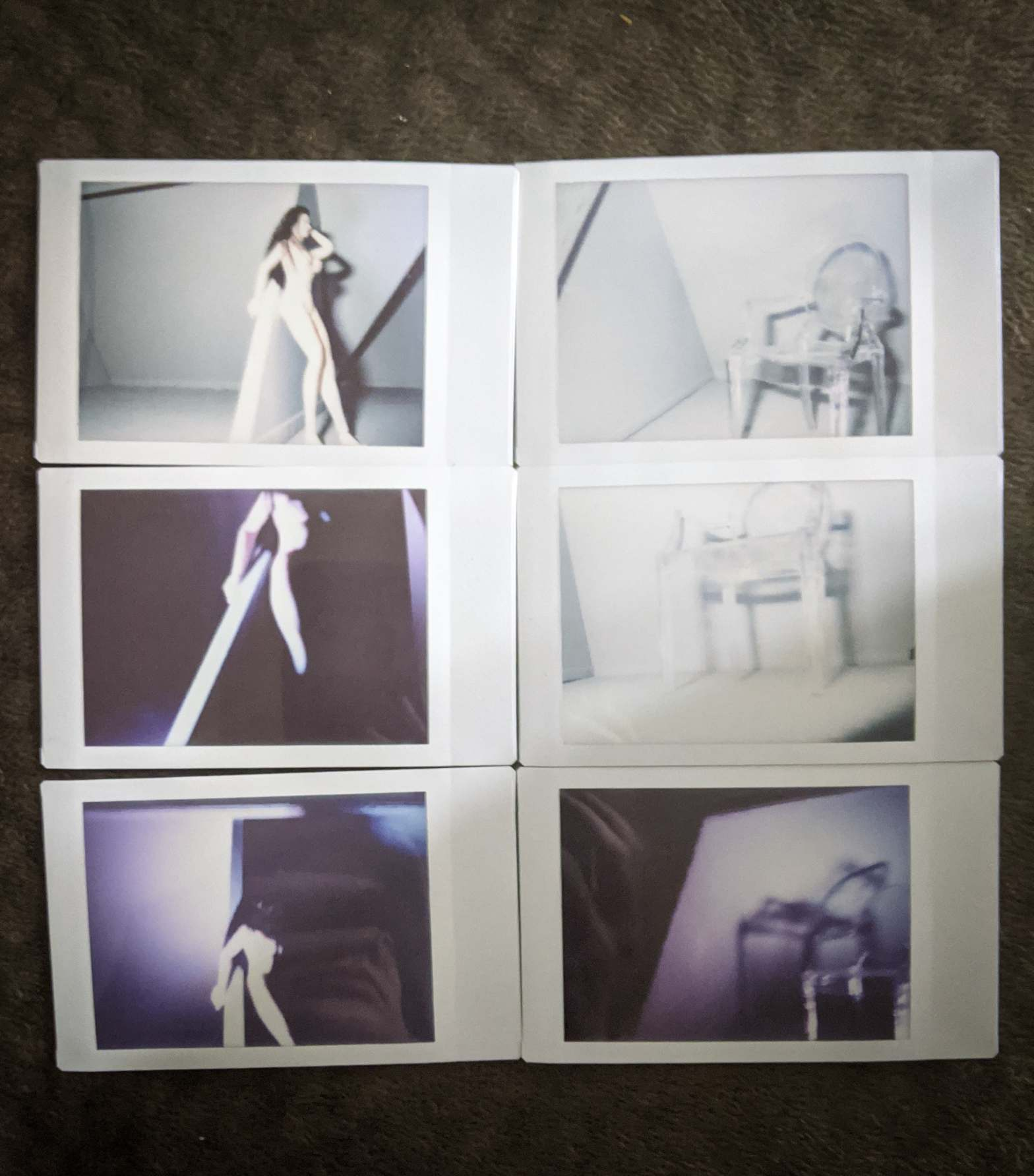 6 Fujifilm Instax Mini 90 Neoclassic toy photos by Tourmaline .