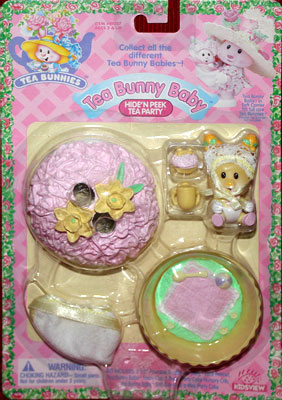 Tea Bunny Baby Daffodil Dumpling and the Coconut Cupcake and Blanker
