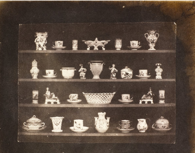 Articles of porcelain, Henry Fox Talbot, 1844, Daguerreotype