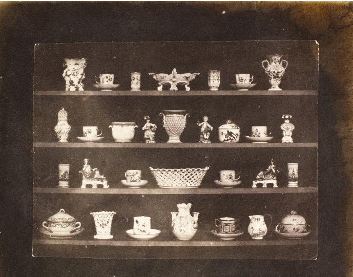 Articles of porcelain, Henry Fox Talbot, 1844, Daguerreotype
