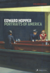 Book cover of Edward Hopper Portraits of America