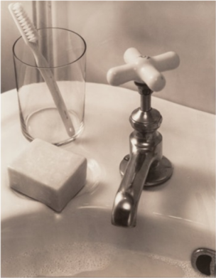 Edward Steichen, Still-life with Sink and Soap, 1930