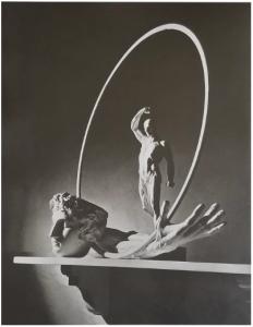 Horst P. Horst, Still Life Hoop, 1939, platinum palladium print