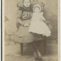 Girl with doll, 1885, Kodak Brownieimage