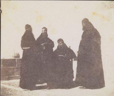 Calvert Richard Jones, Capuchian Friars, 1846
