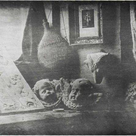 Louis Jacques Mande Daguerre, Still Life, 1837