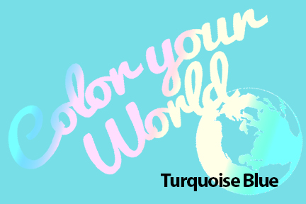 cyw turquoise blue